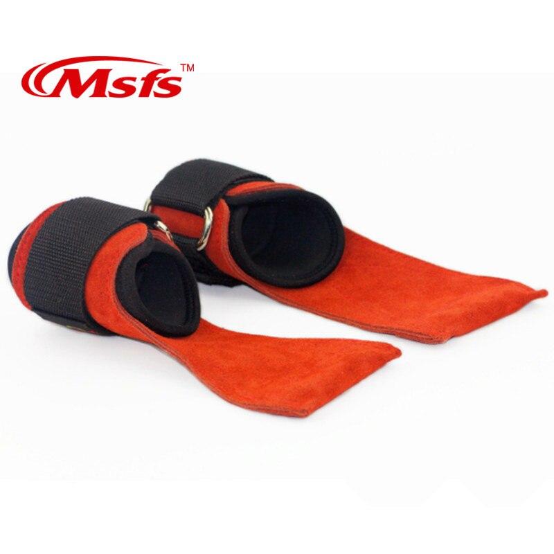 1 par equipamentos de ginástica fitness luvas de levantamento de peso couro do esporte crossfit treinamento haltere haltere haltere alças