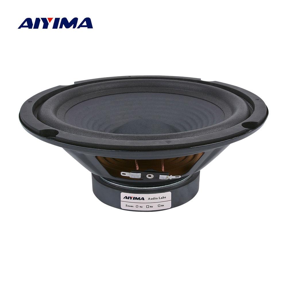 AIYIMA-Altavoz de graves Midrange para cine en casa, dispositivo de Audio magnético...