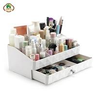 Msjo Organizer For Makeup Plastic Makeup Drawer Storage Cosmetic Organizer Jewelry Storage Box Casket Holder Desktop Sundry Case