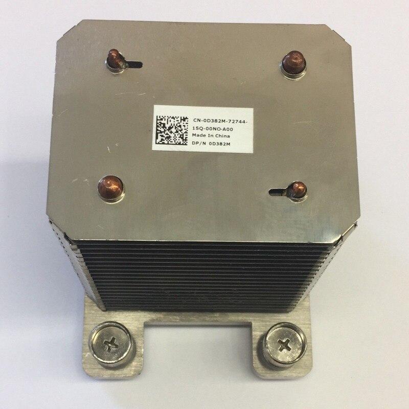 D382M 0D382M servidor Processador cpu cooler de resfriamento do dissipador de calor do dissipador de calor para Poweredge T310
