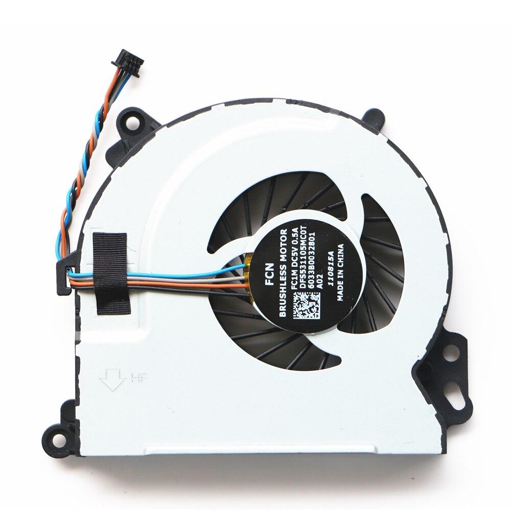 New Original For HP Envy m6-n010dx m6-n012dx m6-n015dx m6-n113dx m6-n Cpu Cooling Fan