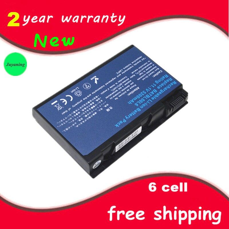 Juyaning batería del ordenador portátil para Acer Aspire 3100, 5110, 3103, 9110,...
