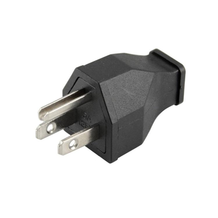 50 unids/lote Premium US Nema 5-15R enchufe 15A 125 V conector de Cable de alimentación,