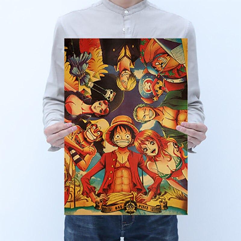 Японские фигурки, винтажные наклейки Зоро, Луффи, экшн-фигурки, декоративные наклейки для спальни, Муро для детей