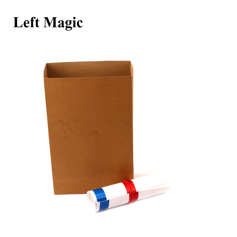 Appearing Big Straw 1.25m - Magic Tricks Straw From Empty Bag Close Up Stage Magic Props Gimmick Props Illusion Comedy Toys недорого