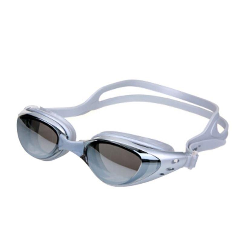 Novo Profissional Anti-Nevoeiro óculos de Natação Óculos de Proteção UV Ajustável Adulto Óculos Óculos Das Mulheres Dos Homens de Silicone À Prova D Água