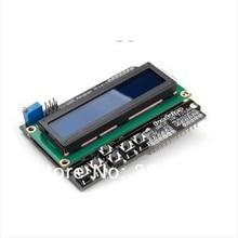 Nieuwe 1Pcs 1602 Lcd Board Keypad Shield Blauwe Achtergrondverlichting Voor Arduino Lcd Duemilanov