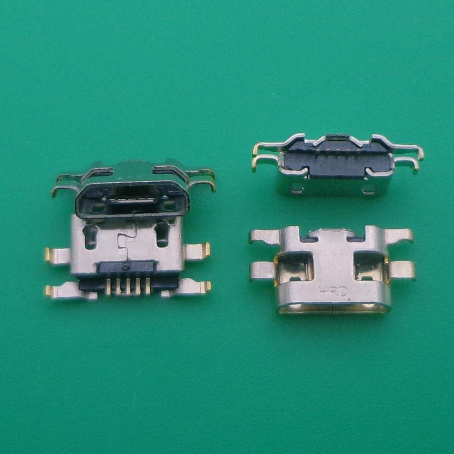 100 PCS conector Micro USB fêmea Porto De Carregamento jack tomada de corrente para Gionee F100 W900 T1 F103 V188 GN5001 GN152 GN151 g9000