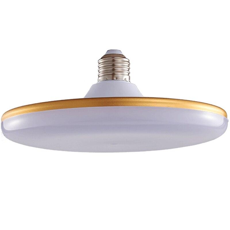 50 W Rodada LEVOU Lâmpada E27 de Alta Potência de Luz à prova de Tri-Comercial-poupança de Energia Lâmpada Destacar a Luz Branca Iluminação do pendente
