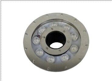IP68 316 paslanmaz çelik rgb led çeşme lamba 15 w AC12v 9x3 w Epistar 3-in-1 rgb led sualtı lamba 60 adet/grup DHL ücretsiz kargo