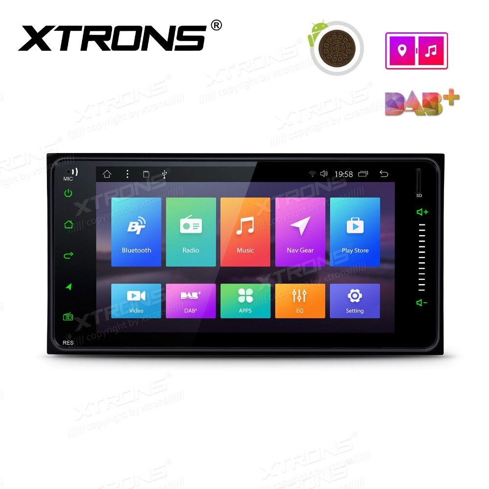 7 &quotAndroid 8 1 автомобильный стерео плеер GPS Радио для Toyota RAV4 VIos Hilux Terios Avanza фортунер