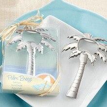 Bouteille ouvre-bouteille pour mariage plage   100 pièces, sur thème palmier, cadeaux pour invités, Souvenirs cadeaux pour invités, cadeaux, ZA3769