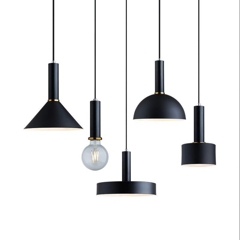 Nordic lámpara de loft luces E27 LED creativo moderno colgante de diseño de lámpara DIY para sala de estar dormitorio cocina restaurante Accesorios