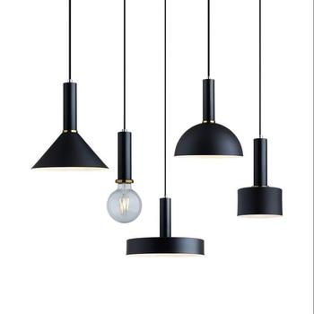 Nordic loft pendant lights E27 LED modern creative hanging lamp design DIY for bedroom living room kitchen restaurant fixtures