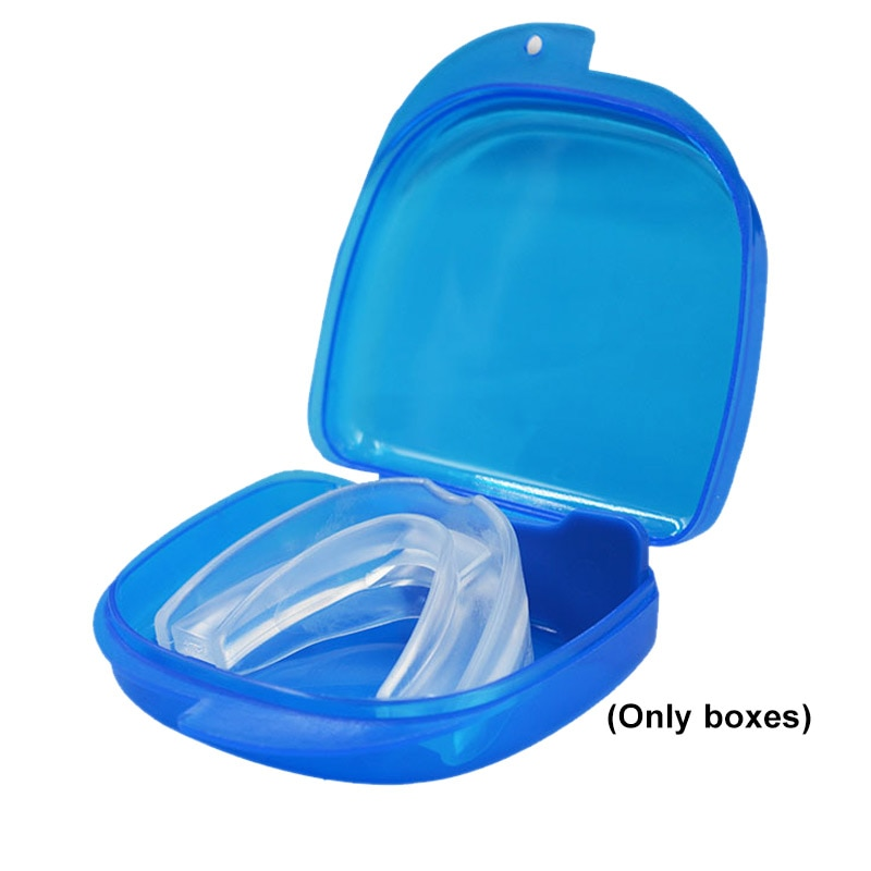 Estojo organizador de denture, recipiente de plástico para armazenamento de dentes falsos, protetor bucal kg66