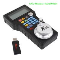 New Wireless USB MPG Pendant Handwheel Mach3 For CNC Mac.Mach 3 4 axis controller CNC Wireless Handwheel