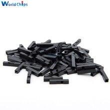200Pcs 2,54mm 1P Pitch Dupont Jumper Wire Kabel Gehäuse Weibliche Pin Contor jumper wire c c  -