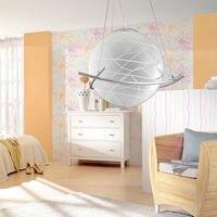 Modern Creativity Pendant Light LED E27 Bulb Glass Ball Loft Cafe Bar Living Room Lighting Fixtures Warn White/white Light