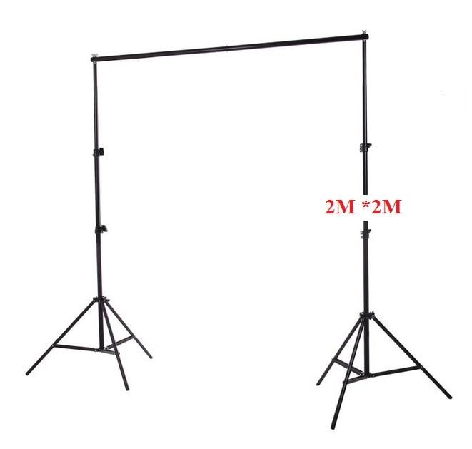 Фотофон для фотосъемки 2 м * 2 м/6,56фт * 6,56фт алюминиевый фон подставка фоновая система поддержки + сумка для переноски комплект