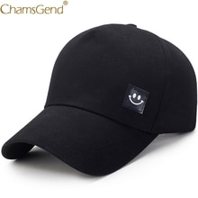 Smiling Face Solid Summer Hat Unisex Women Men Casual Baseball Caps Snapback Hip Hop Streetwear Visors Baseball Hats 90214