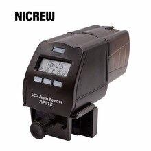 Nicrew Digital LCD distributeur automatique de nourriture pour poissons Aquarium réservoir étang Auto poissons mangeoire minuterie distributeur de nourriture minuterie capacité réglable