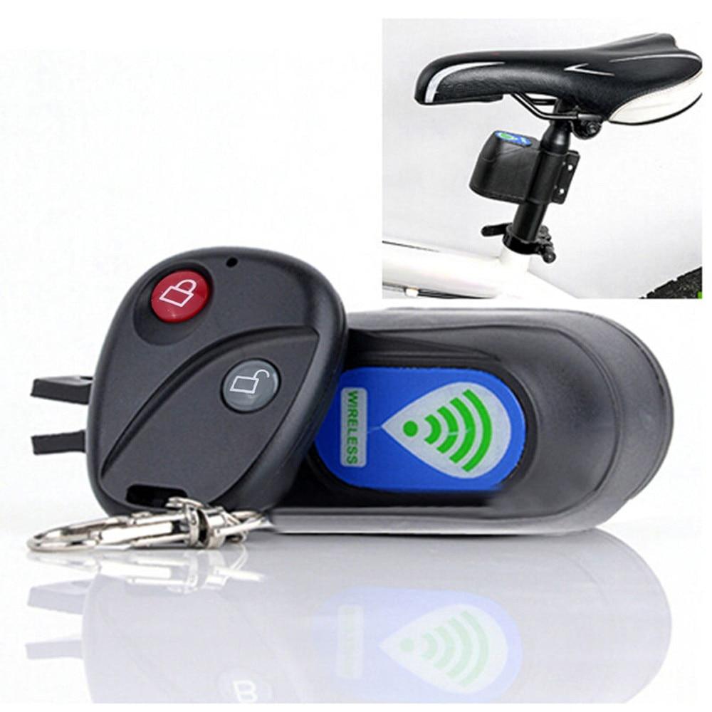 Противоугонная Беспроводная сигнализация замок велосипедный велосипед система безопасности с дистанционным управлением Противоугонная сигнализация велосипедный замок #15