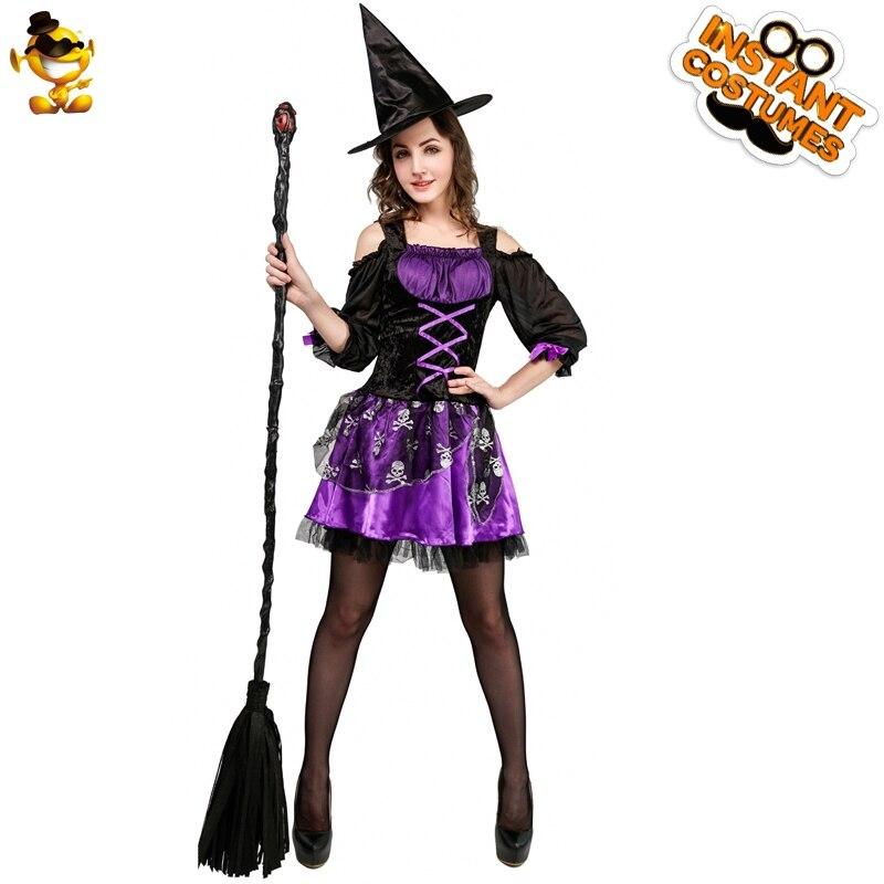 Disfraz de Carnaval DSPLAY, disfraz de Carnaval de la señora Scarlet, disfraces clásicos de Halloween, nuevo estilo, disfraces Sexy de bruja, trajes de mujer