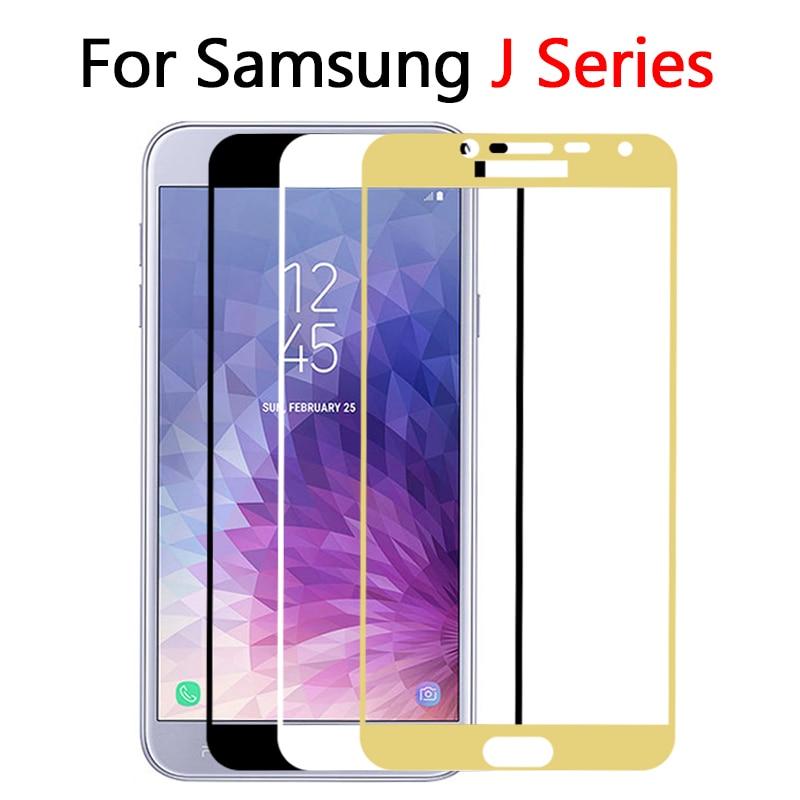 Protector de cristal para Samsung J8 J4 J6 plus 2018 J5 2016 J3 J5 J7 J2 Pro templado protector de pantalla de cristal en el Galaxy J 4 6 película