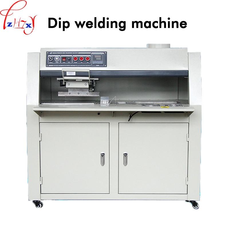 Semi - automatic Dip Welder ZB3525DG Lead - free Fux Spray PCB Circuit Board Dip Tin Furnace Dip Welder Machine 220V 1PC