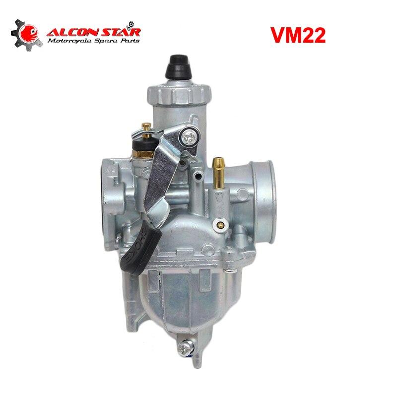 Alconstar-Motorcycle VM22 PZ26 26mm Carburetor Carb For Dirt Pit Bike ATV QUAD 110cc 125cc140cc Motocross Engine Parts Racing