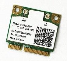 SSEA Atacado novo para Intel Wireless-N 1000 112 112BNHMW metade Mini-pci-e 802.11b/g/n Sem Fio cartão