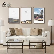 Affiche de style nordique   Créer et recréer, affiche de Bible et imprimés, toile dart murale, peintures à lhuile, autocollants dimages décoratives