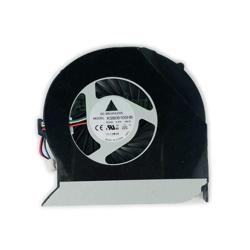 Genuine ventilador de refrigeración de la CPU para Acer Aspire 4750 4743 4743G 4743zg 4750G 4755G 4560G MS2347, ventilador enfriador para computadora portátil KSB06105HB AM1D
