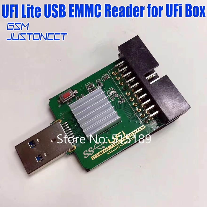 UFI Lite-قارئ UFI Lite usb 3.0 ، سرعة فائقة ، متوافق مع صندوق UFI