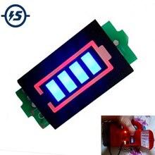 1S 단일 3.7V 리튬 배터리 용량 표시기 모듈 4.2V 파란색 디스플레이 전기 자동차 배터리 전원 테스터 리튬 포 리튬 이온
