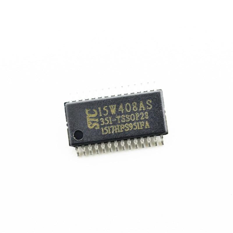 STC15W408AS-35I-TSSOP28 STC microcontrolador IC chip