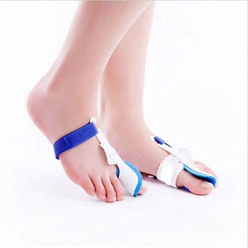 2 Pcs Big Toe Straightener Bunion Hallux Valgus Corrector Night Splint Foot Pain Relief Feet Care Tools