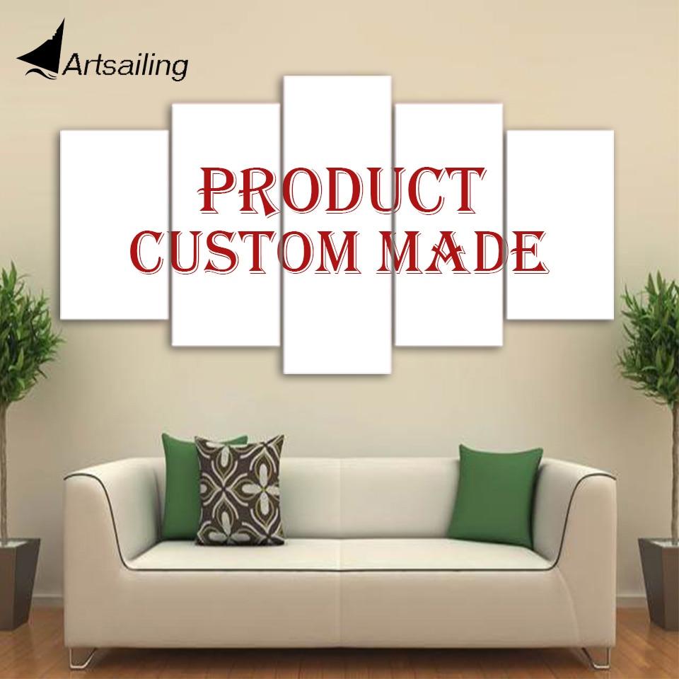 Quadro de arte hd impresso personalizado, 5 peças tela impressa de pintura tela impressa do quarto impressão de parede quadro tela envio XA-000