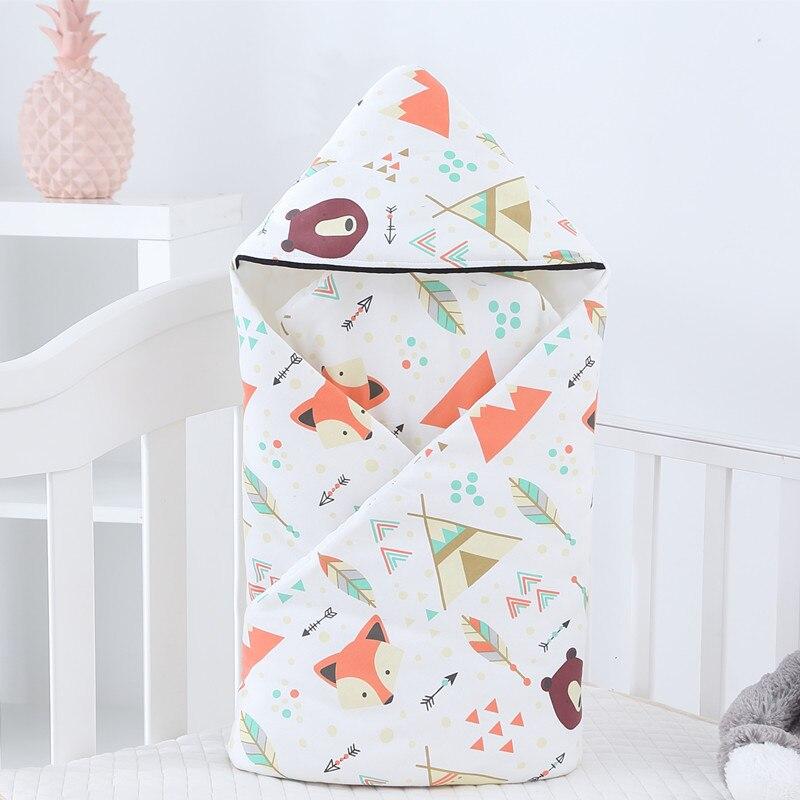 0-6month mais branco cobertor do bebê envoltório swaddle bebe envelope saco de dormir para recém-nascidos cobertor de cama do bebê