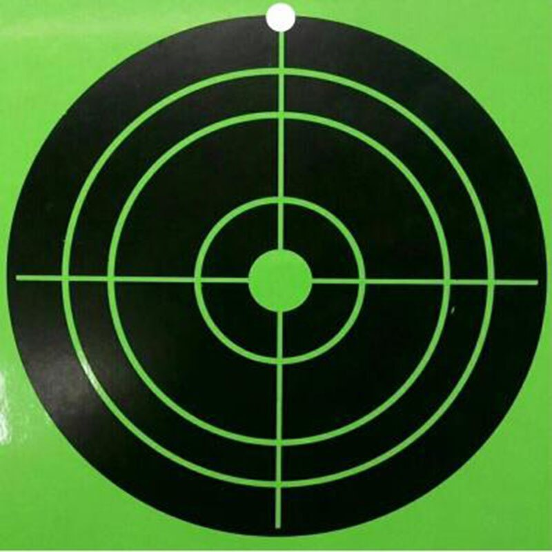 Splatter Shooting Target Outdoor Hunting Aim Target Bright Fluorescent Gun Shooting Targets Make It Easy To See Your Shot