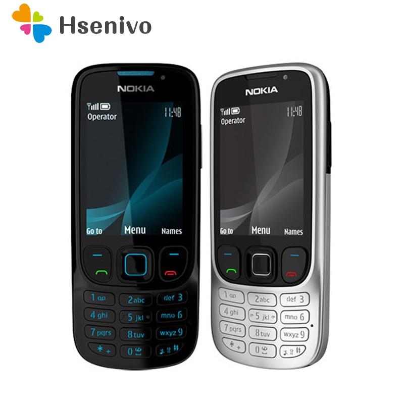 Nokia 6303c refurbished-Original Unlocked Nokia 6303 Classic FM GSM 3MP Camera phone Russian keyboard support Free shipping