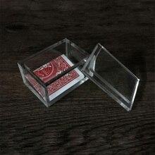 Paragon 3D (DVD et Gimmick) tours de magie carte à effacer boîte Magia magicien gros plan Illusions Prop mentalisme boîte transparente