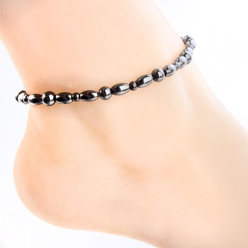 Mossovy magnético tornozelo pulseira para homens moda jóias perna corrente pulseira feminina pernas acessórios 2018 jóias femininas