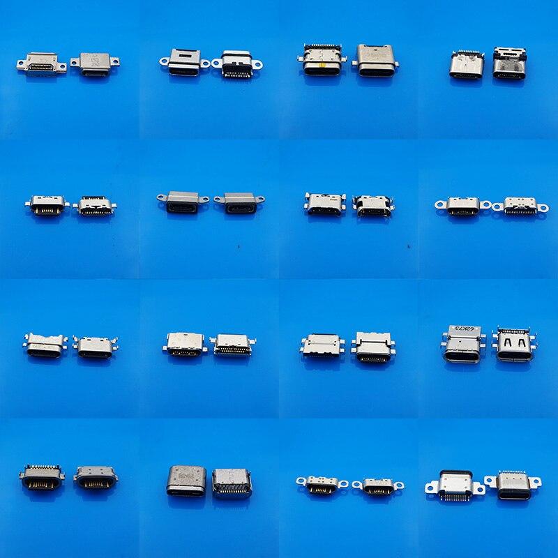 54 modelos Micro 3,1 USB tipo C conectores hembra Micro USB 3,1 conectores para mesa de teléfono móvil puerto de carga usb USB-C Socket