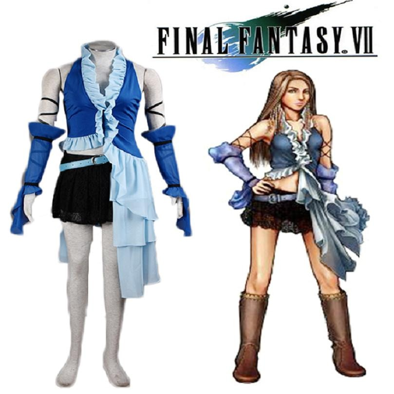 High-Q Unisex Final Fantasy cosplay de Yuna trajes