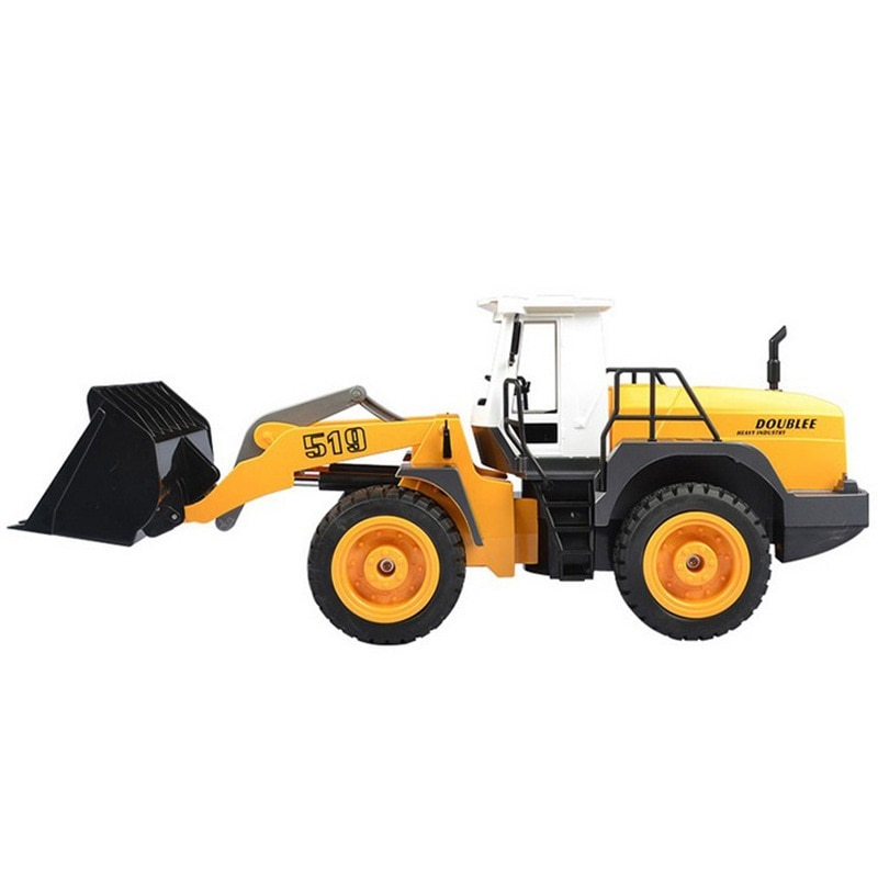 Outside Large RC Toy 1:20 42CM RC Remote Control Forklift Truck Excavator Bulldozer Charging Engineering Vehicle Children Toy enlarge