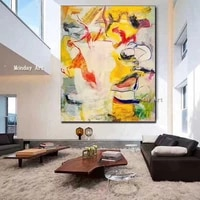 dropshipping abstract paintings hand painted new abstract oil painting home decor wall painting wall art picture for living room