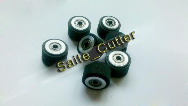 50 шт. резиновый медный пресс-ролик 4x11x16 мм для Roland Graphtec CE5000 120 виниловый резак режущий плоттер