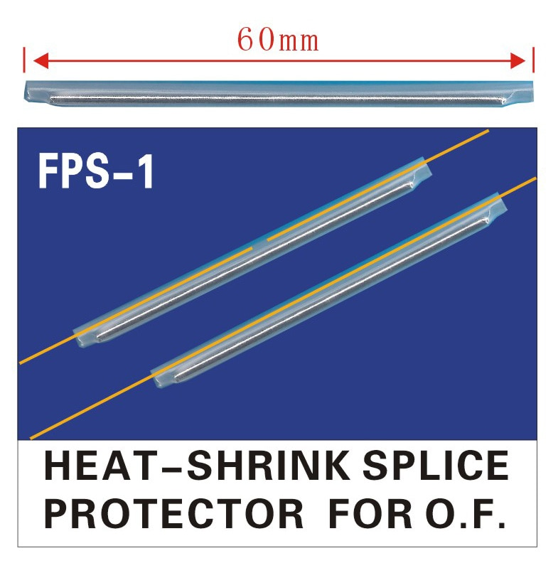 2500pcs/lot Dia 2.5mm 60mm Fiber Optic Fusion Splice Protector Sleeves ,Heat Shrinkable Tube Free Shipping enlarge