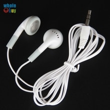 3000 pièces/lot. Vente en gros. Écouteurs blancs jetables 3.5mm à faible coût. Écouteurs pour téléphones portables Mp3 Mp4. Pour bibliothèque, hôtel, hôpital. Cadeau